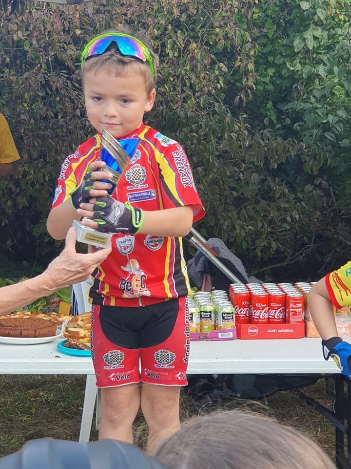 Bis repetita pour Mahel et Mattis Noel (Dreux CC) au cyclo-cross de Champlan (91)