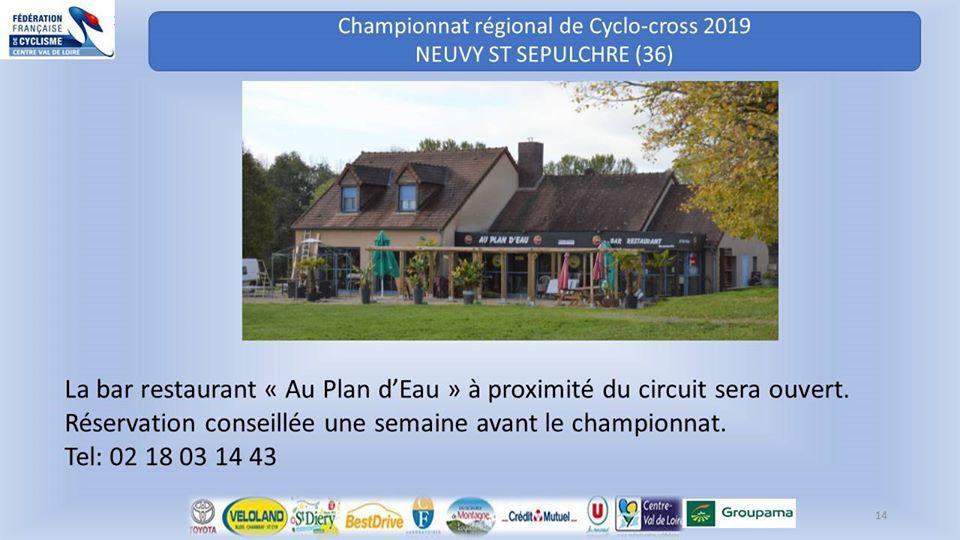 Le dossier complet du championnat régional de cyclo-cross des 7 et 8 décembre à Neuvy St Sepulchre (36)