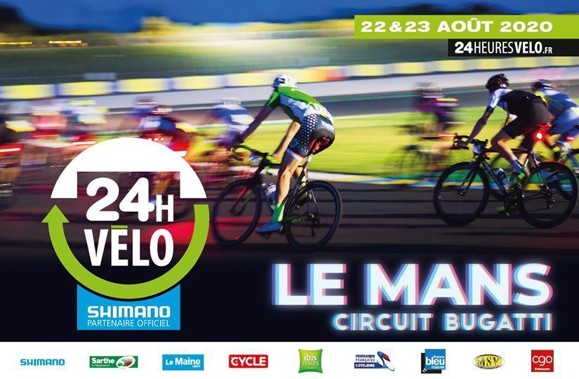 Les 24 heures du Mans Vélo 2020 annulées en raison de l'évolution de la crise sanitaire par décision préfectorale