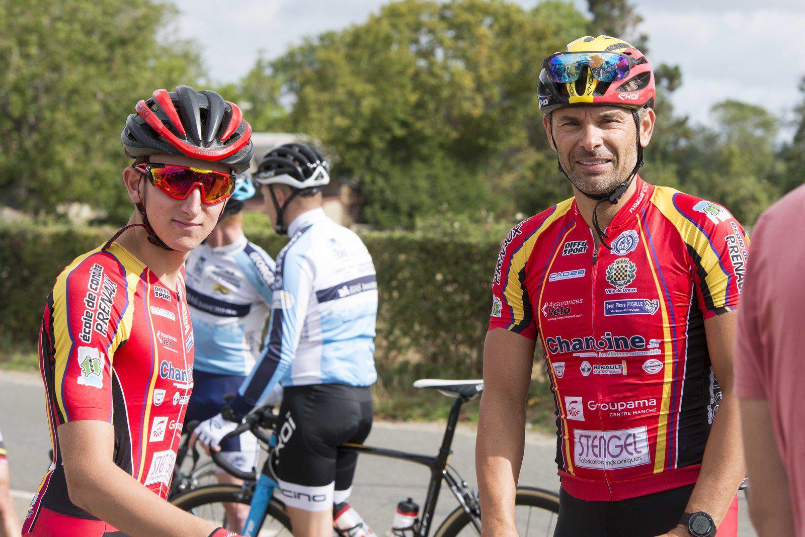 Ugo Stengel (Dreux CC) 8ème à la D2 de la Guéroulde (27)