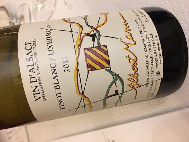 Alsace Pinot blanc de terroirs (première partie) Club AOC Barr
