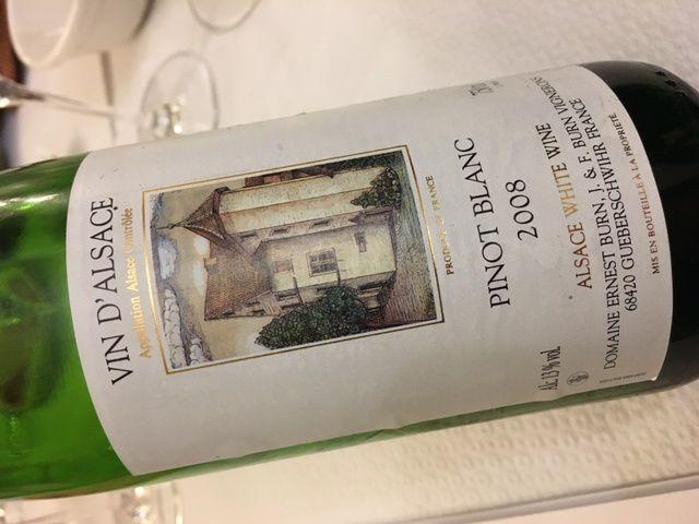 Alsace pinot blanc de terroirs (seconde partie) club AOC de Barr