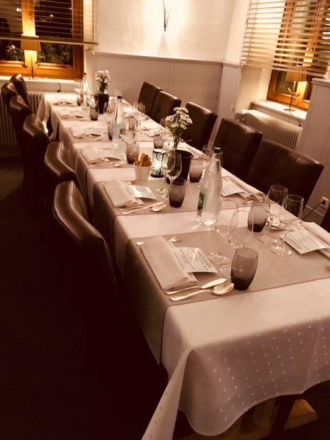 Accords avec les vins du domaine Zind-Humbrecht à La taverne alsacienne