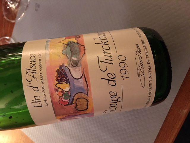 Pinot noir à la Confrérie Saint Etienne pour finir 2017