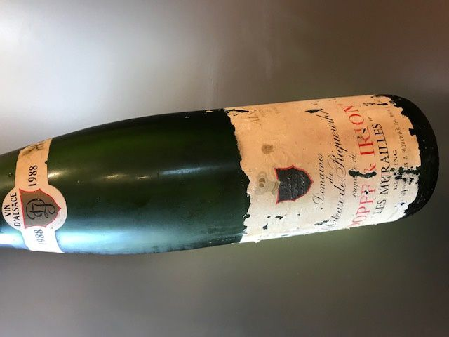 Alsace riesling les murailles 1988 Dopff et Irion