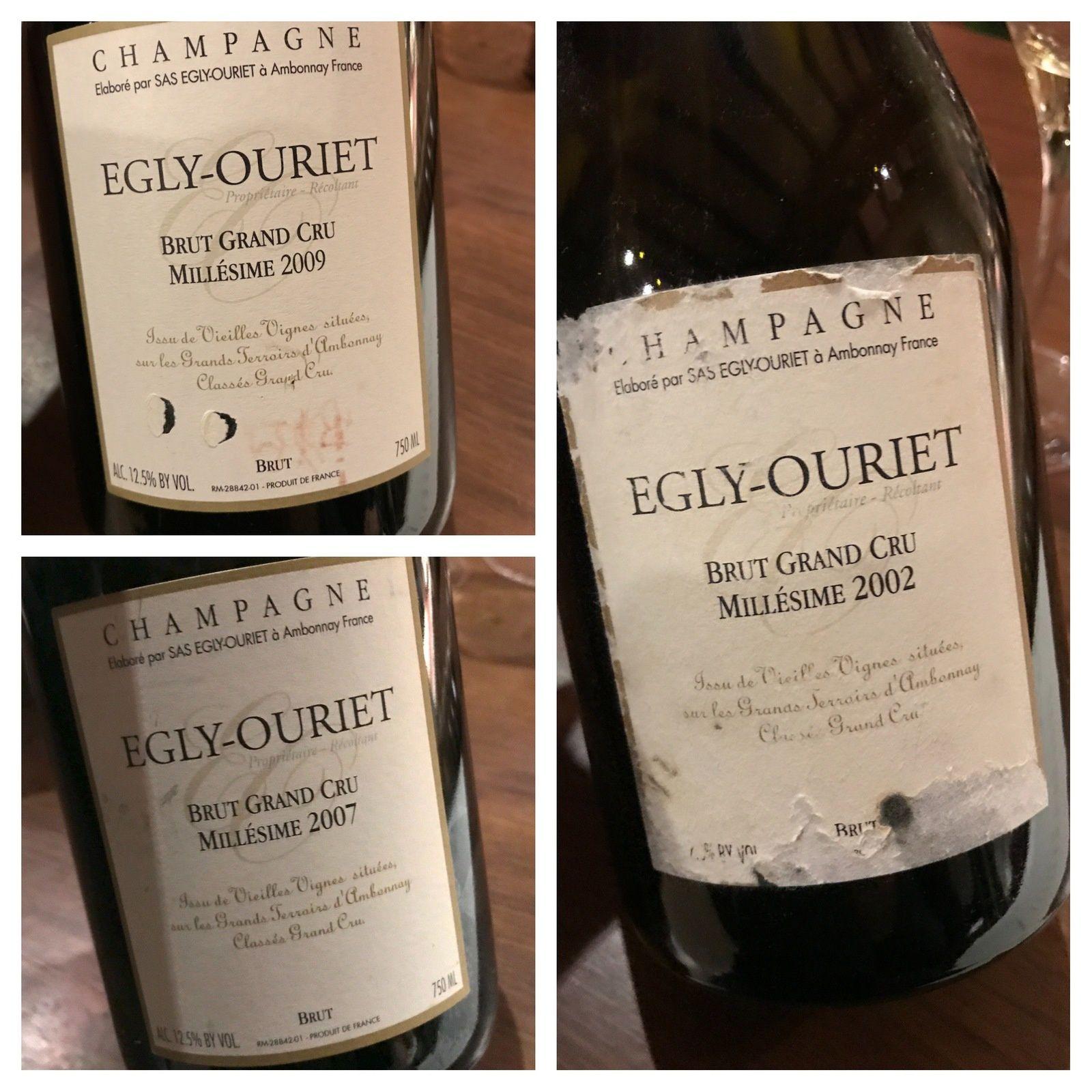 Champagne Egly-Ouriet au club AOC Barr