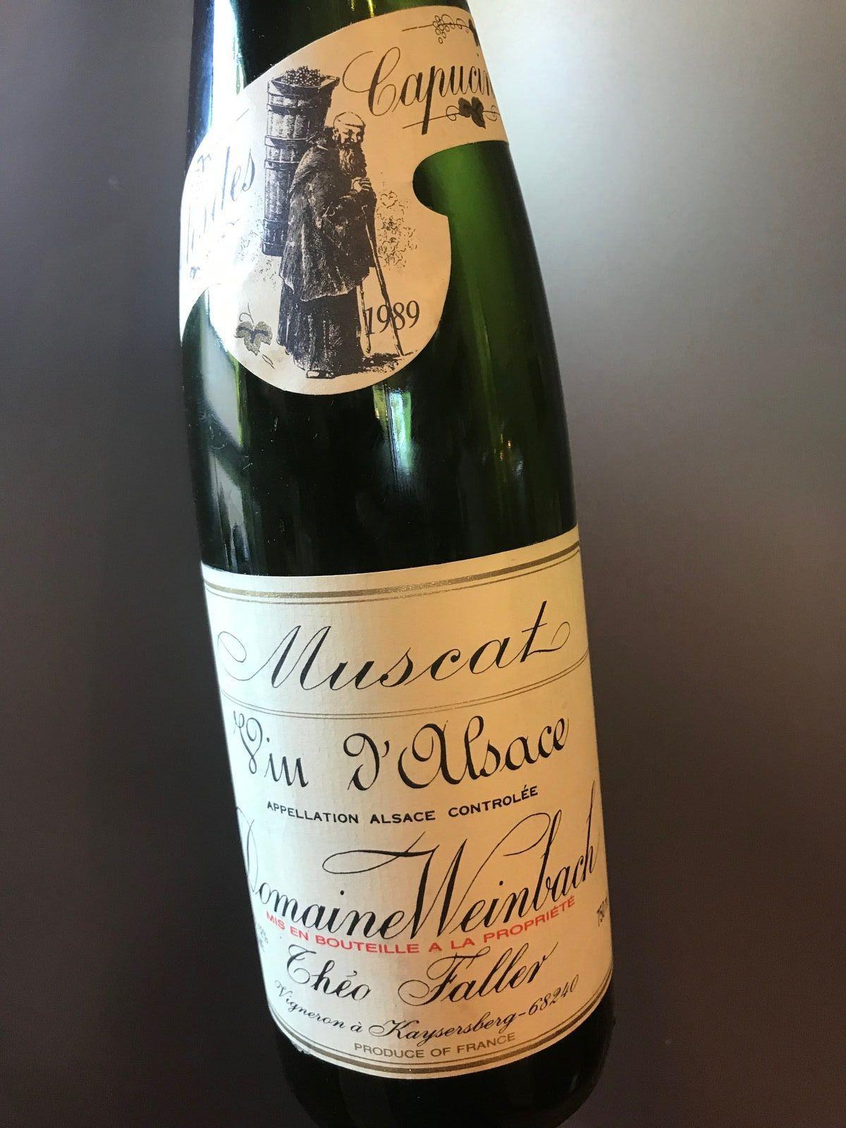 Alsace Muscat 1989 Domaine Weinbach