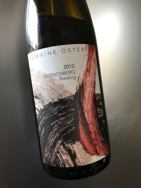Alsace grand cru Muenchberg riesling 2012 Domaine Ostertag