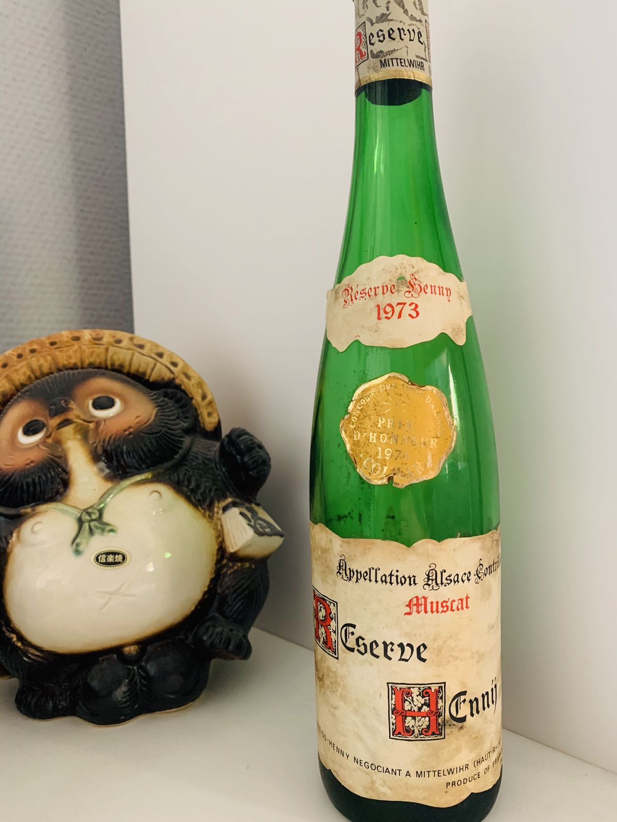 Alsace muscat Réserve Henny 1973 Preiss-Henny