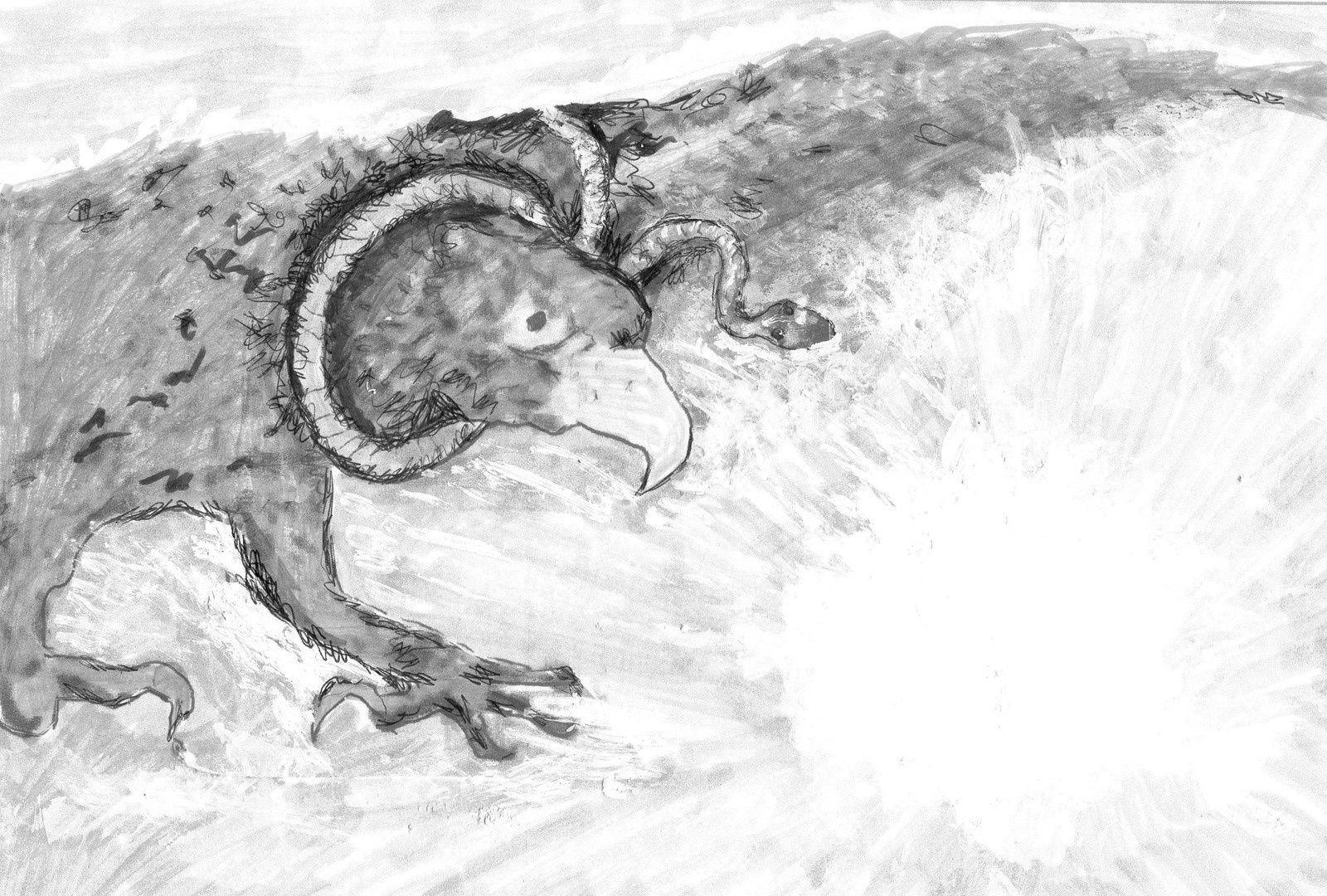Nietzsche : l'aigle et le serpent de Zarathoustra