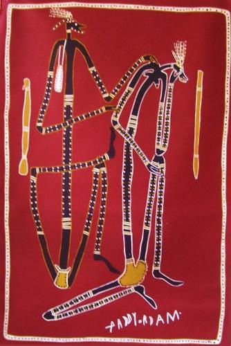 """""""The beginning of life,  story of the rainbow serpent """" et   """"Mimi spirit, the married man"""""""