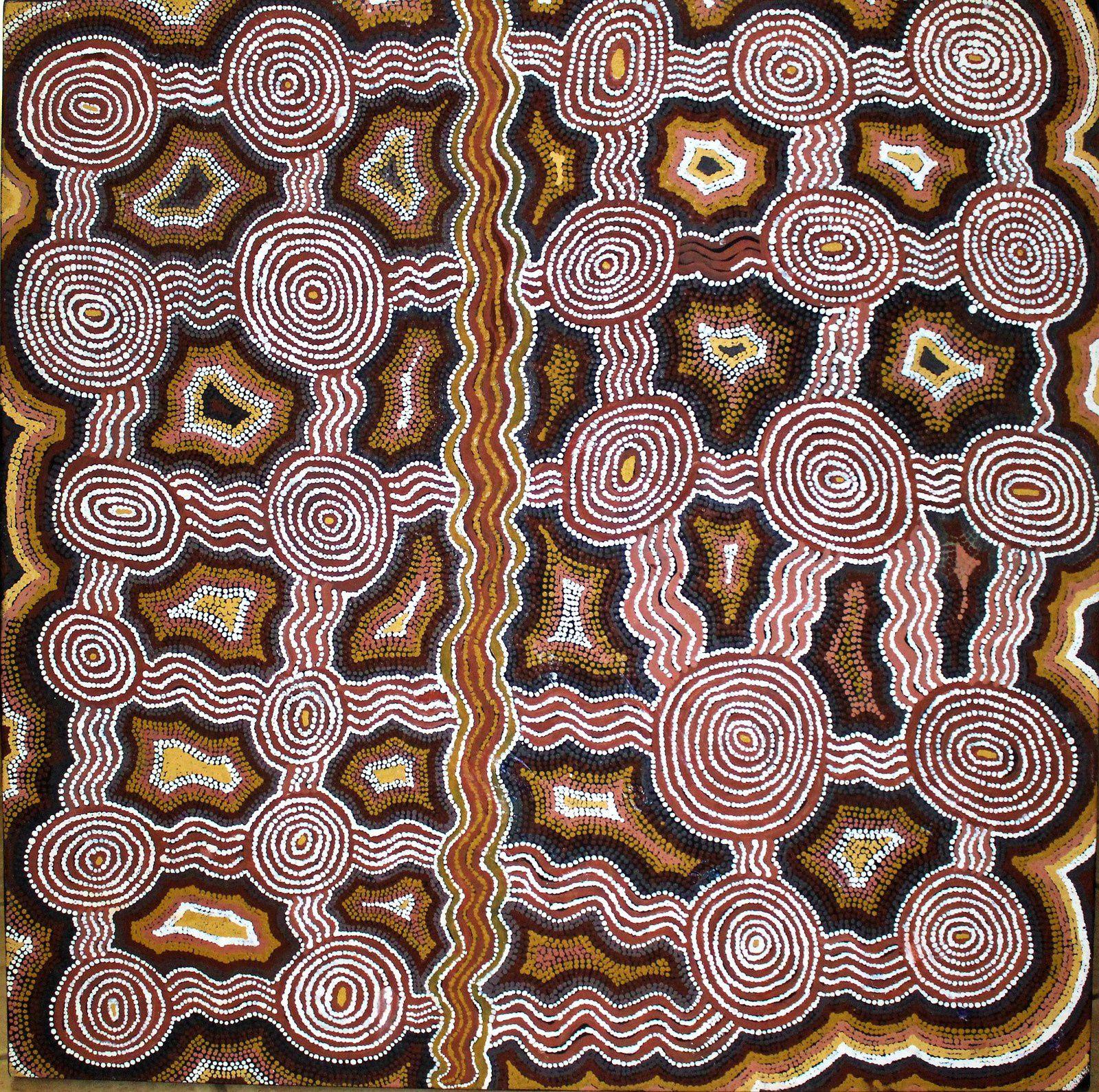 Australie et art aborigène à Bennecourt (Yvelines)  septembre / octobre 2018