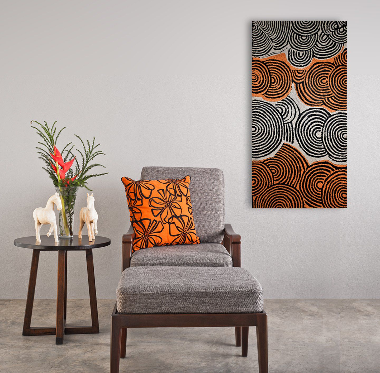Art aborigène, décoration, décor chambre à coucher