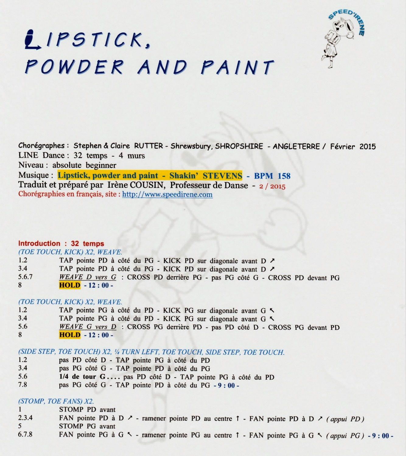 LIPSTICK, PODER AND PAINT