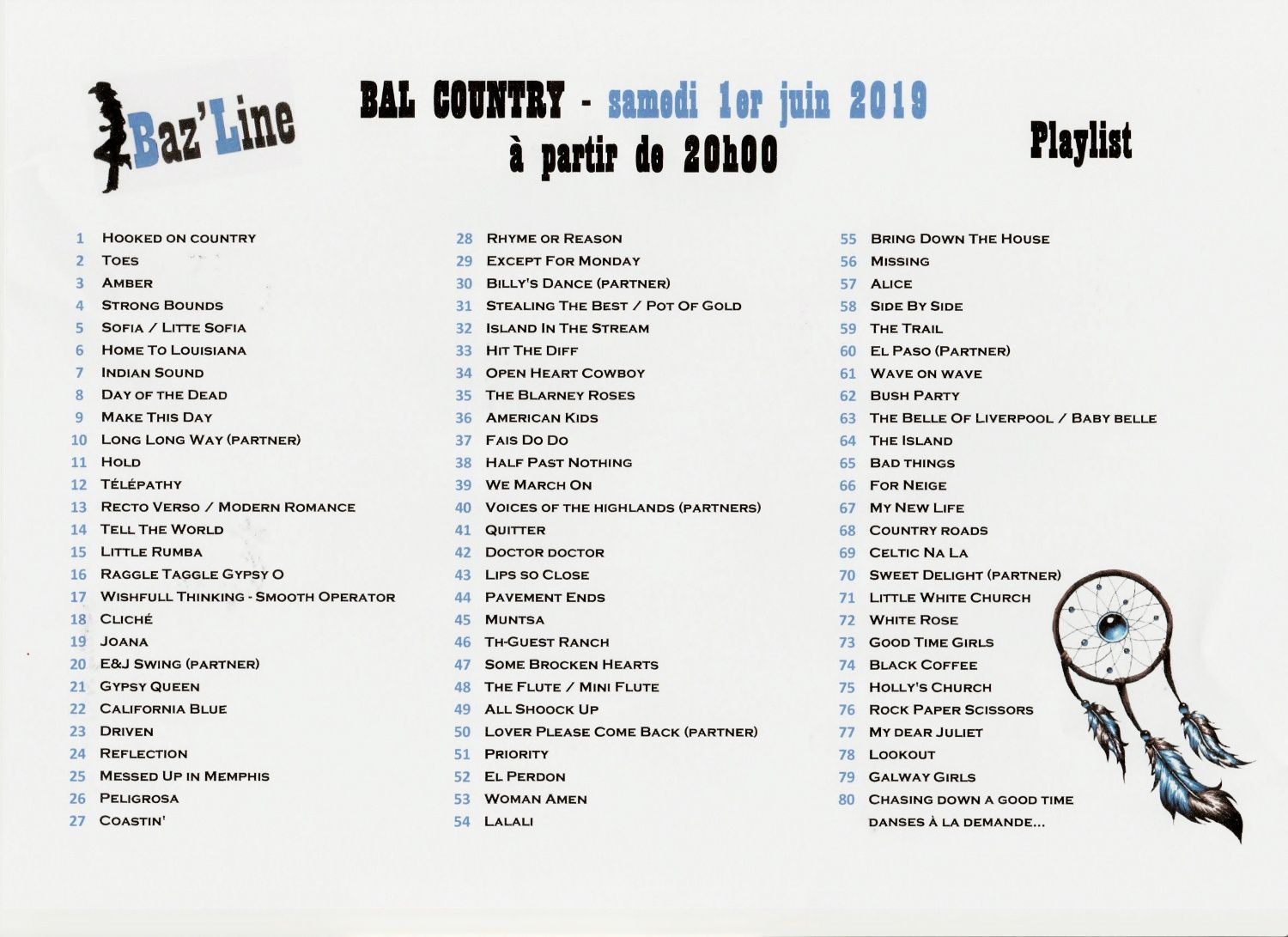 PLAYLIST CHATILLON 1 JUIN