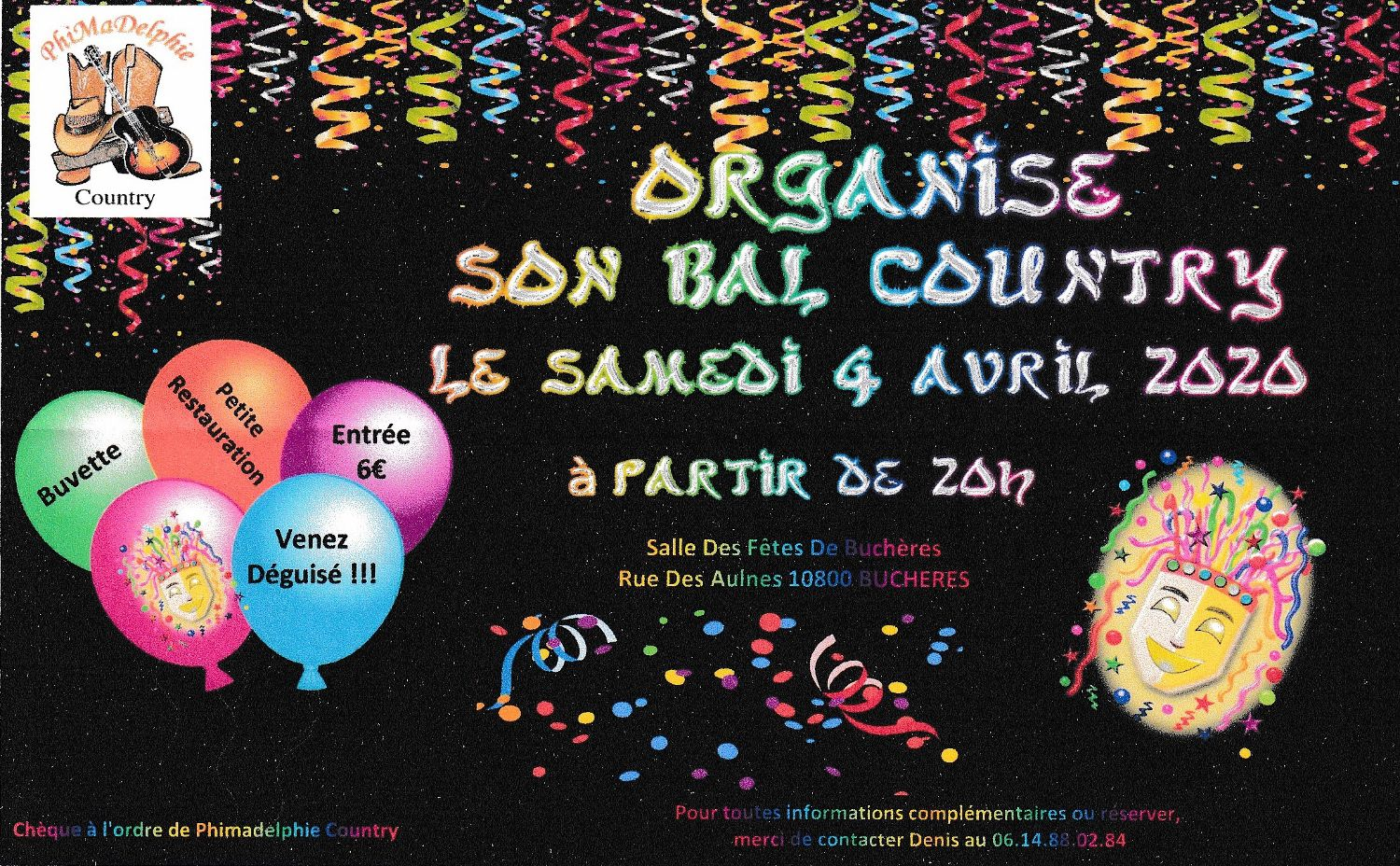 AFFICHE BUCHERES 4 AVRIL