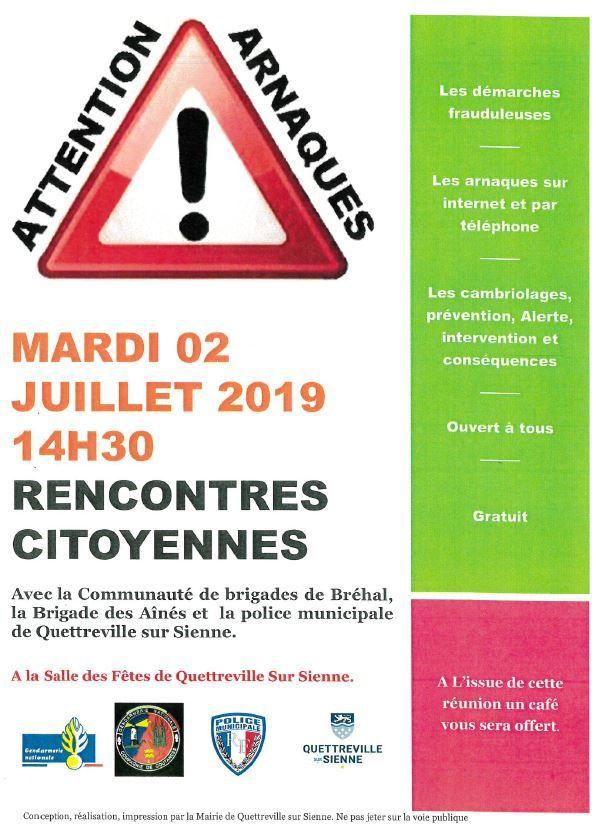 Stop aux arnaques !