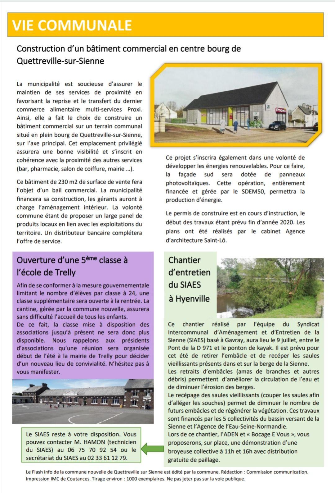 Le Flash Info : le nouveau bulletin d'information de la commune nouvelle.