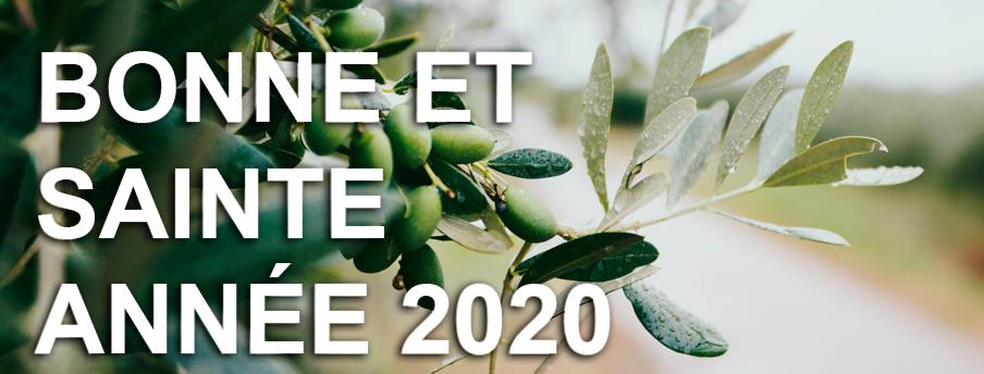 Bonne et sainte année 2020 !