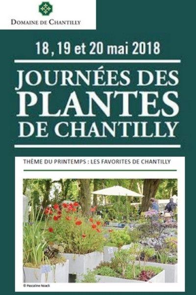 Journées des plantes les 18-19 et 20 mai 2018 à Chantilly