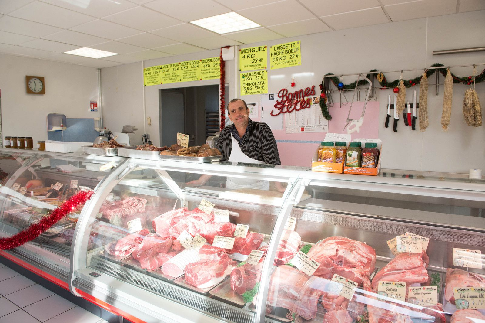 Tournon d'Agenais : La Boucherie à nouveau ouverte !!!