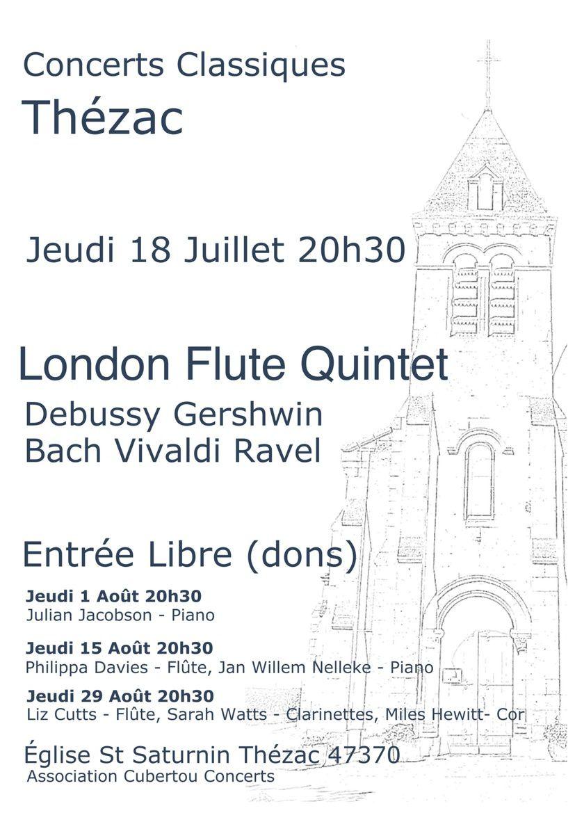 Thézac : Concert à l'église de LFQ
