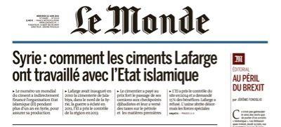 Révélations : le jihad de Lafarge-Holcim