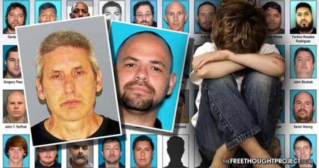 USA : 79 Pédophiles encore arrêtés