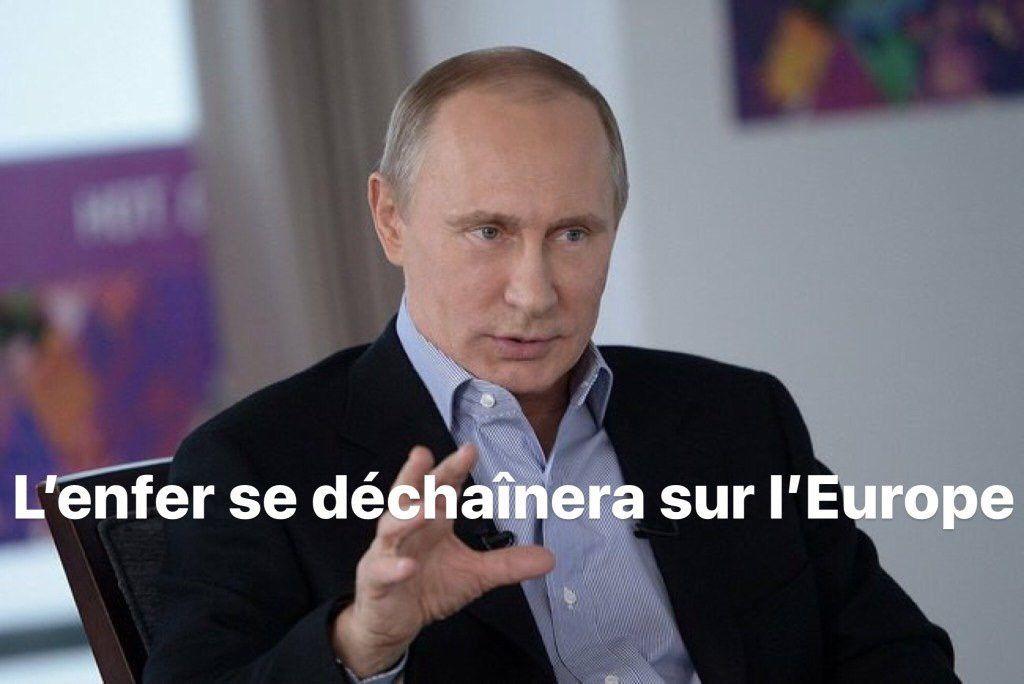 Vladimir Poutine sur l'immigration : « On ferait mieux d'apprendre du suicide de la France »