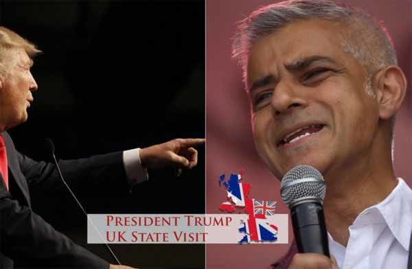 Trump s'en prend au maire de Londres : Regardez ce qui se passe à Londres, je pense qu'il a fait du très mauvais travail en matière de criminalité et de terrorisme…