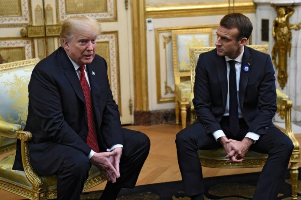 À la veille du 11 novembre, Macron réussit à insulter les États-Unis