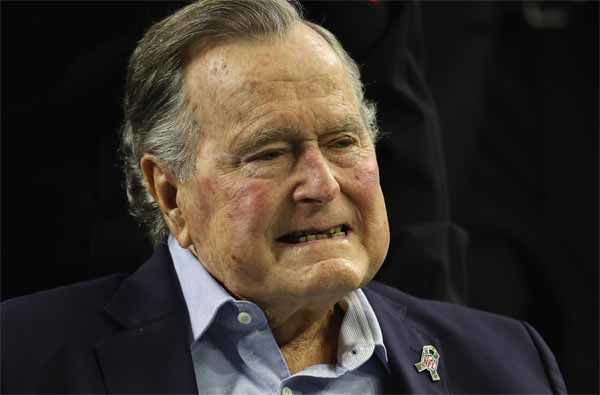 """L'Ex président des Etats-Unis et Monsieur """"Nouvel Ordre Mondial"""" George H.W. Bush est décédé au Texas à l'âge de 94 ans"""