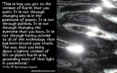 Message du Conseil Arcturien : La Lumière et l'Ascension