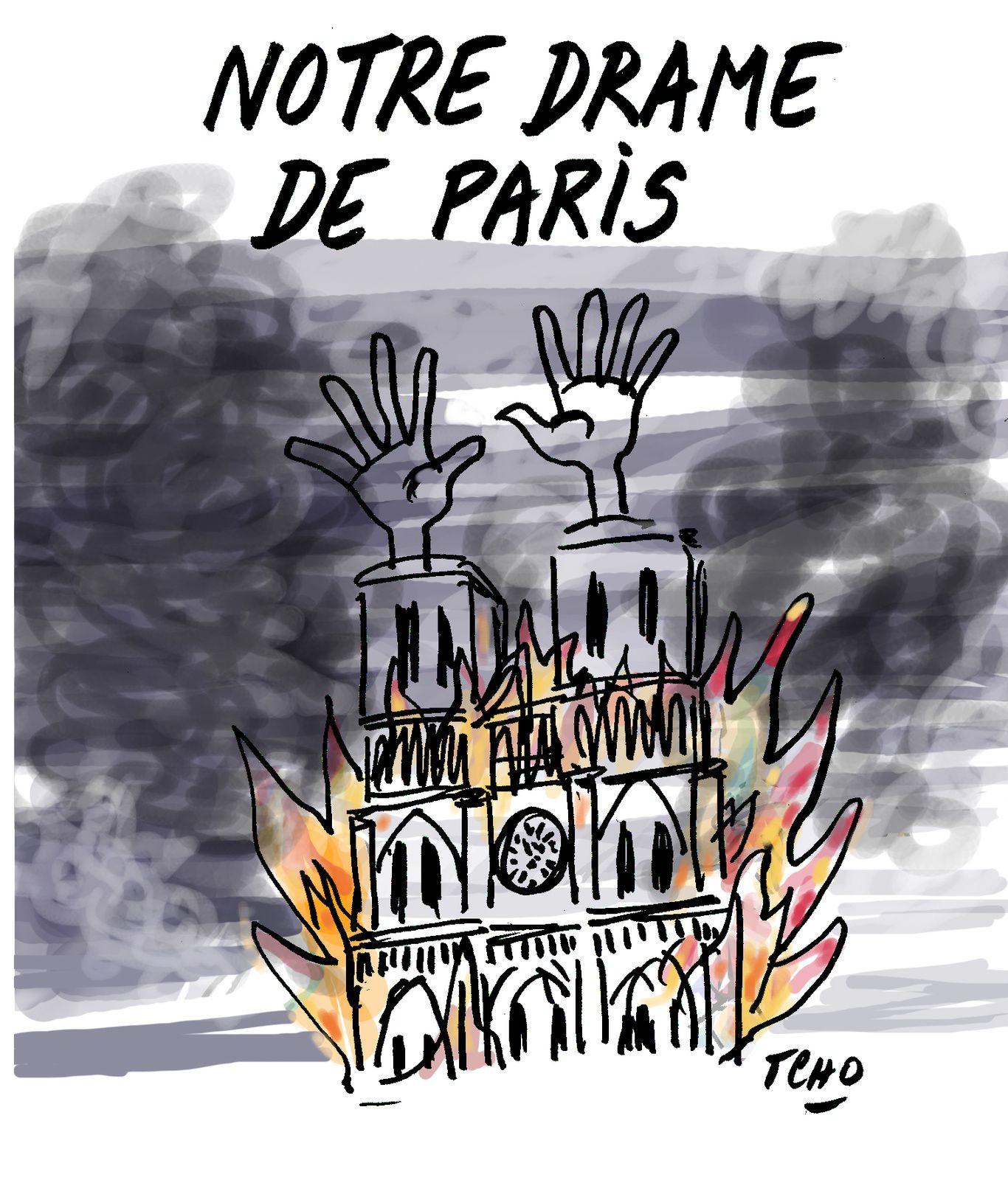 Macron interdit aux architectes de N.-D. de parler, preuve que ce n'est pas un accident