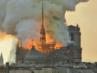 L'incendie de la cathédrale Notre-Dame !