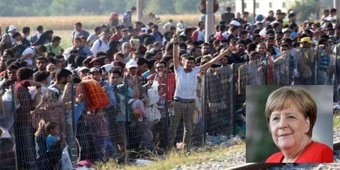 """Merkel : """"L'avenir de l'Allemagne dépend de l'immigration"""""""