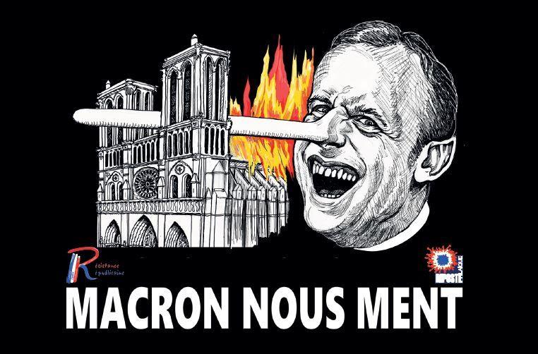 Notre-Dame: enfumage des experts pour escamoter la piste criminelle…