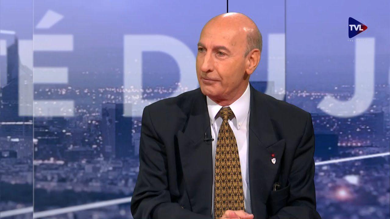 Le Gal Antoine Martinez lors d'un passage à TV Libertés