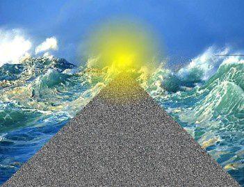 Symbole de la lumière,le chemin vers Dieu