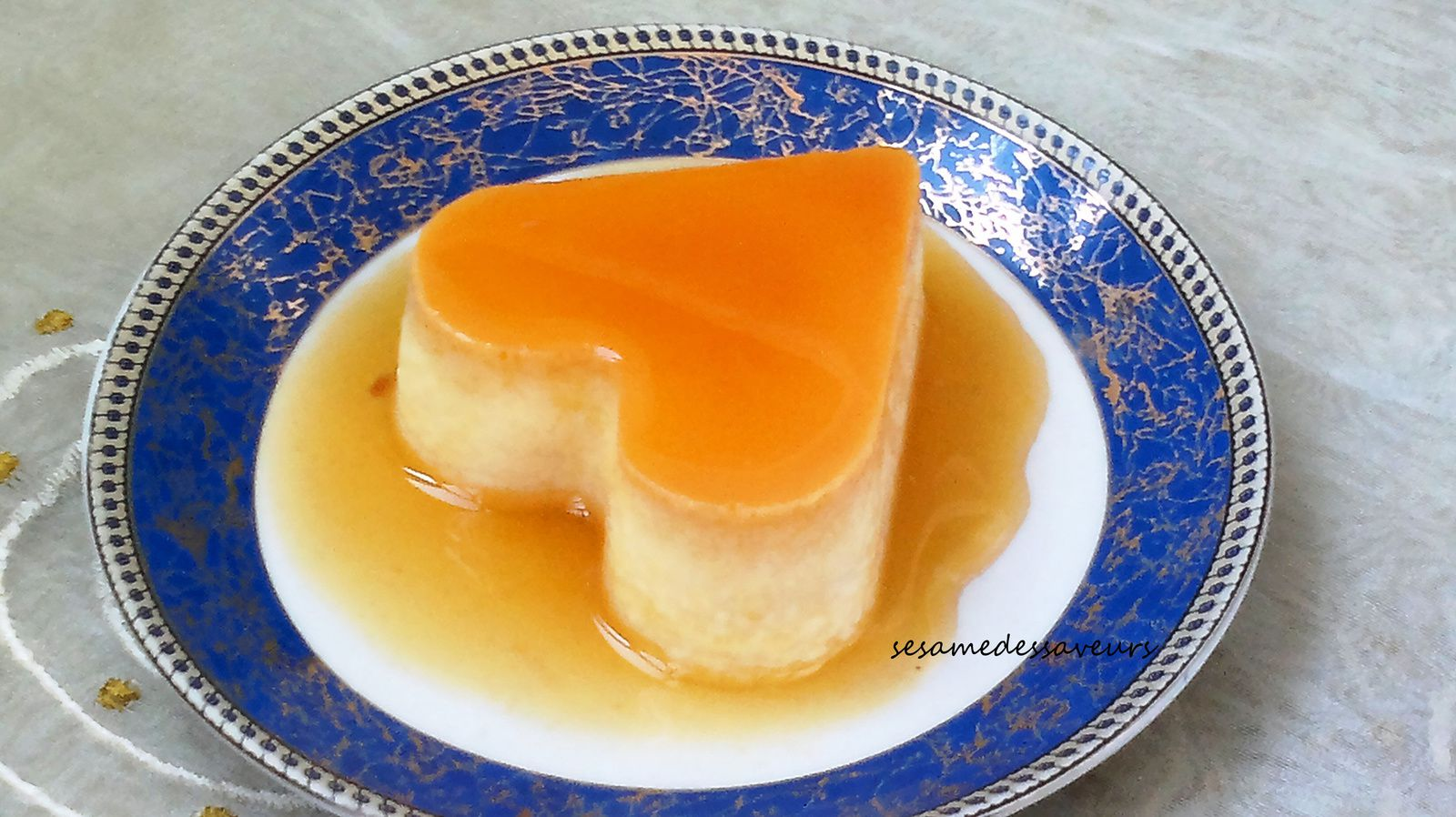 Flans au fromage blanc