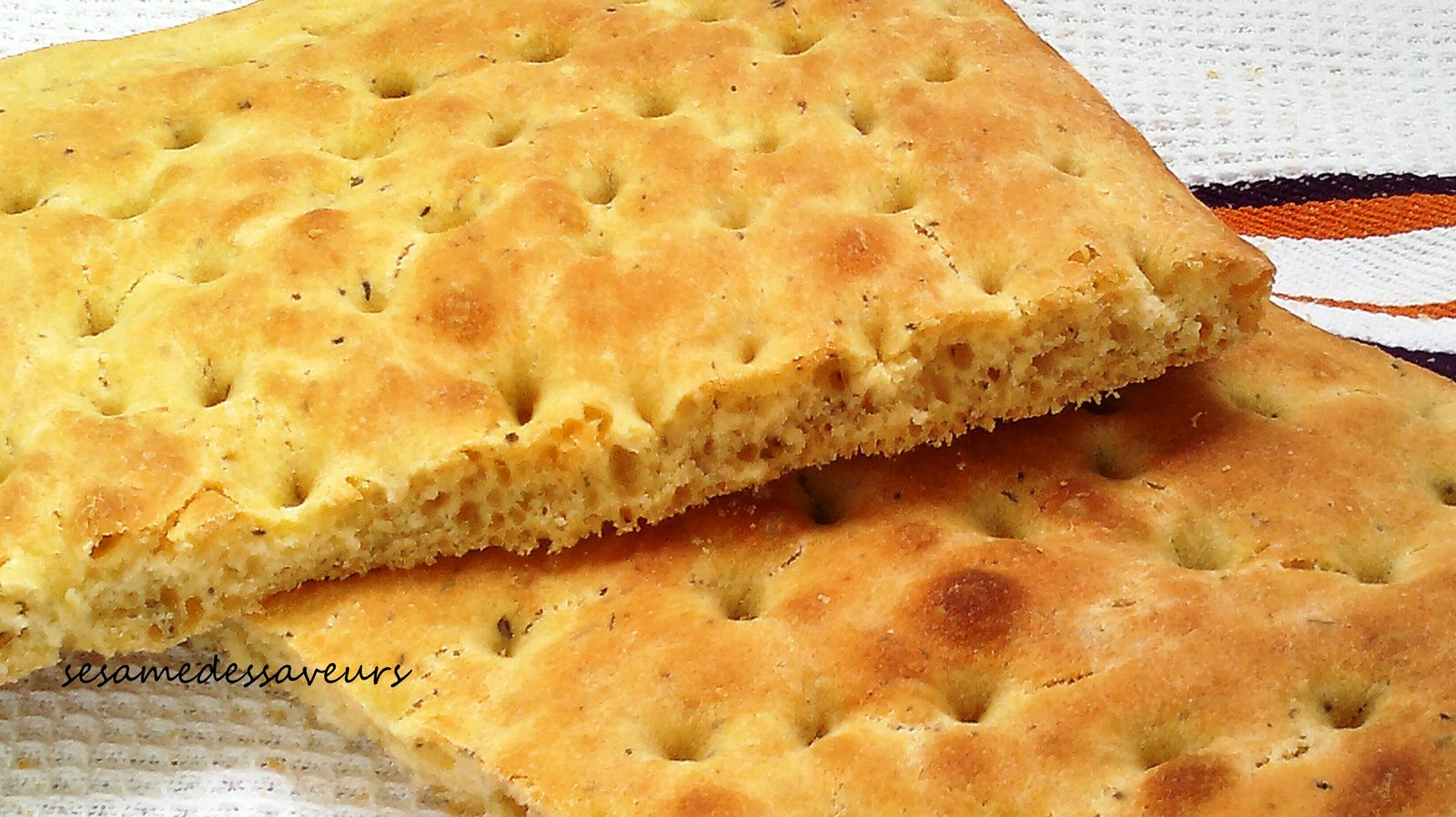 Fougasse aux herbes