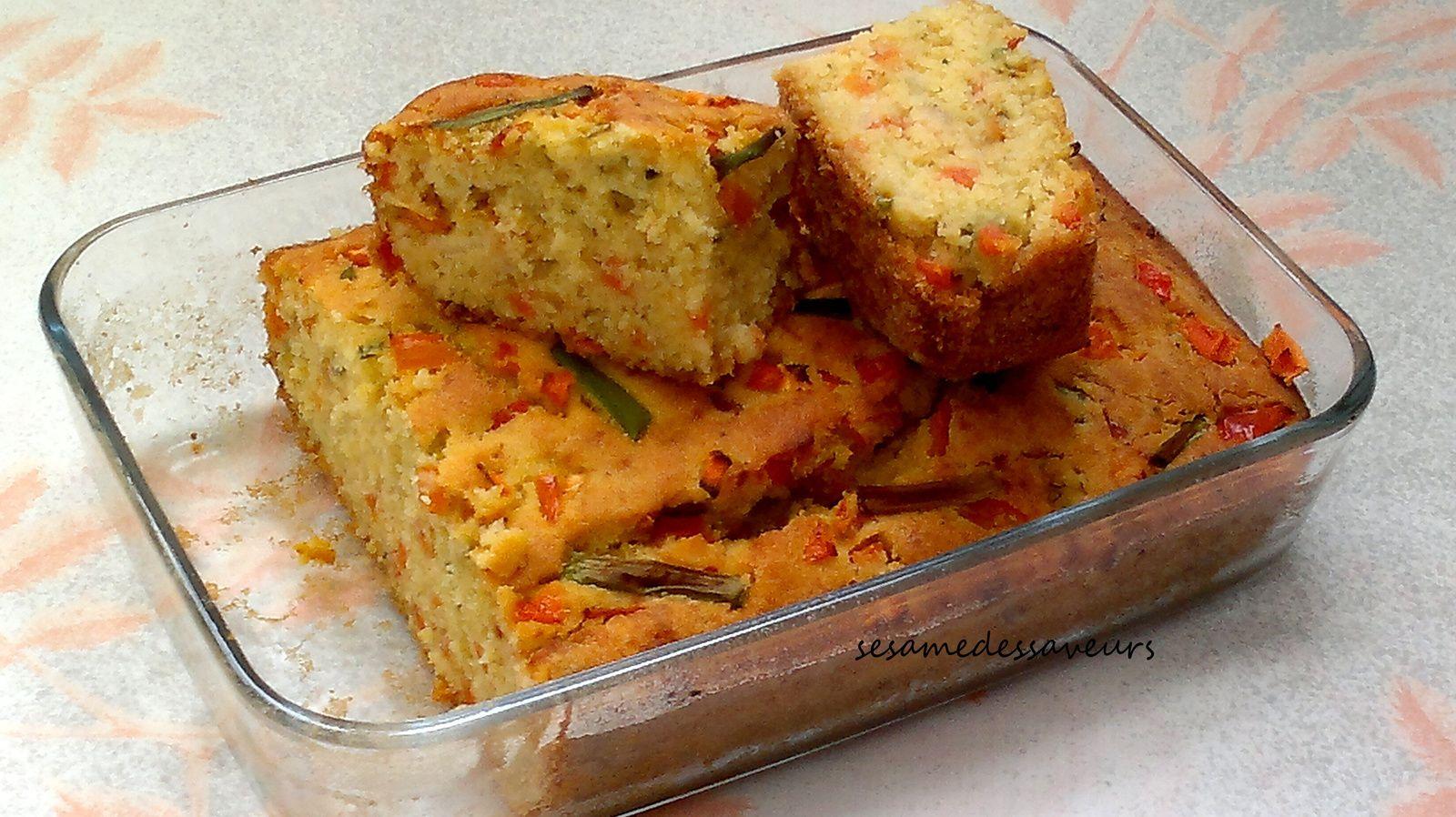 Cake salé aux légumes
