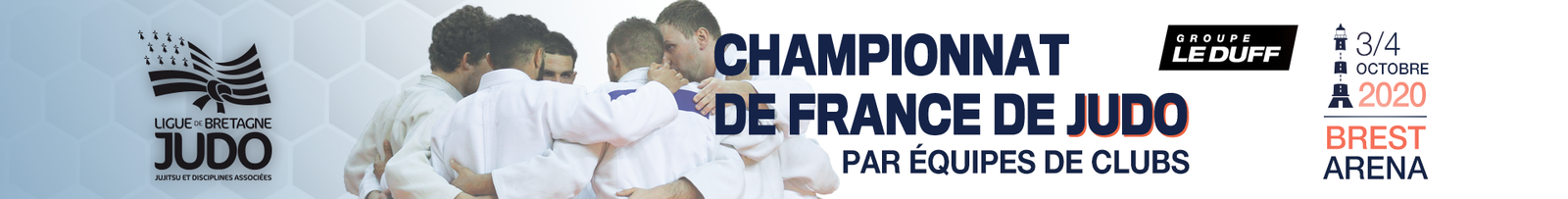 Billeterie du Championnat de France Brest Arena 2020