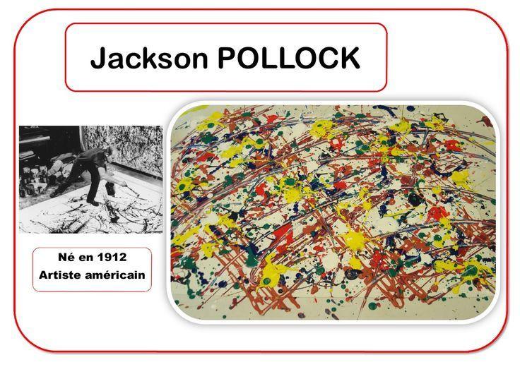 5. l'artiste Pollock en maternelle