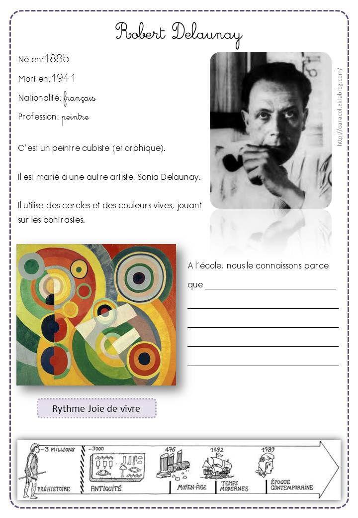 2 .artiste Delaunay en maternelle