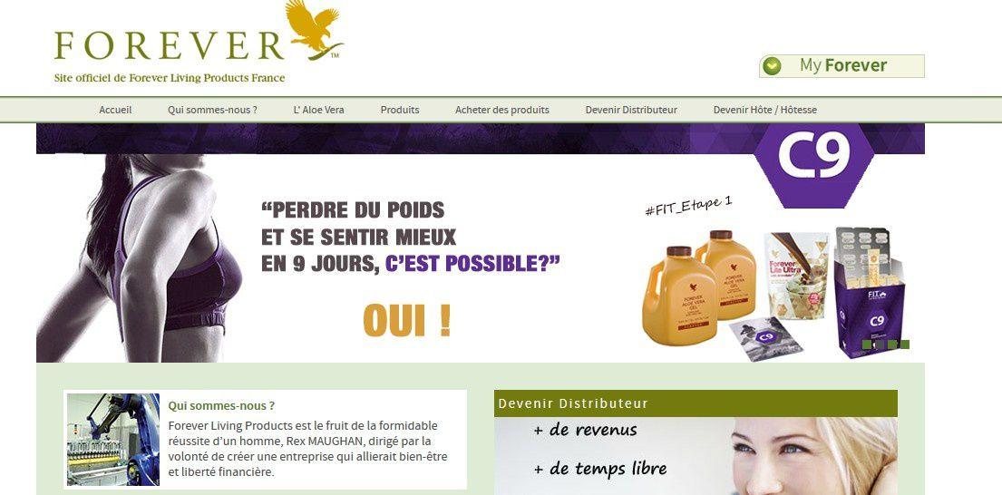 Site officiel de Forever Living Products