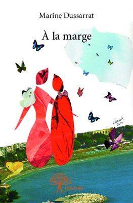 """© eMmA MessanA Les Collages d'eMmA MessanA. Le collage """"Ça donne des ailes !"""" est en première de couverture du recueil de poésies de Marine Dussarrat, """"A la marge"""""""