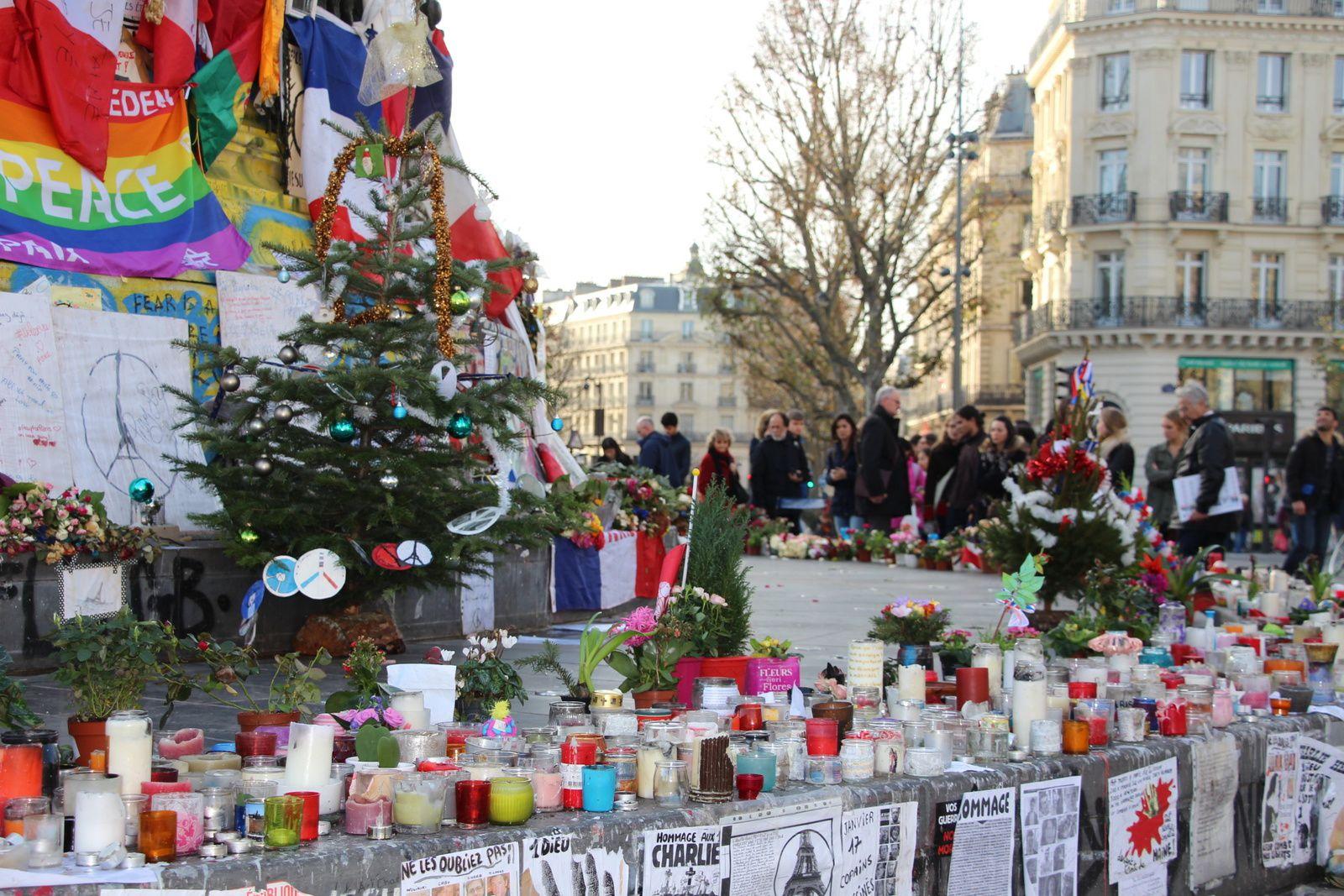 #Paristesouris Place de la République