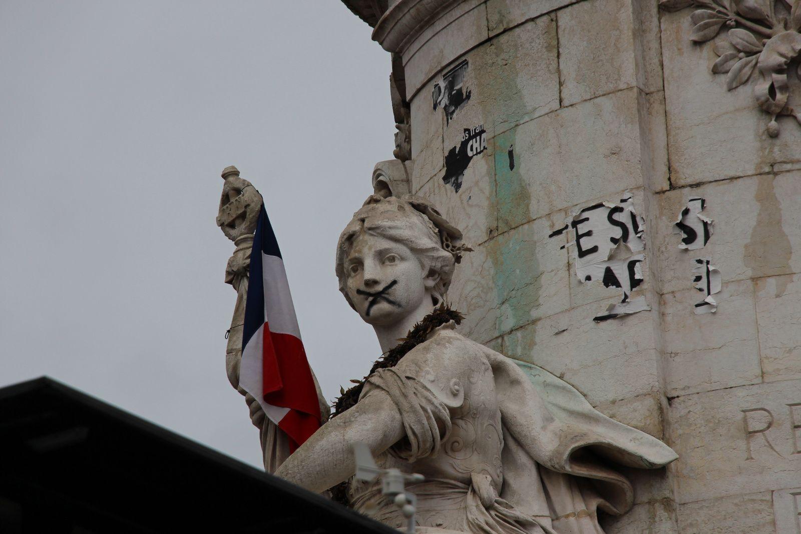 Retour sur la Place de la République