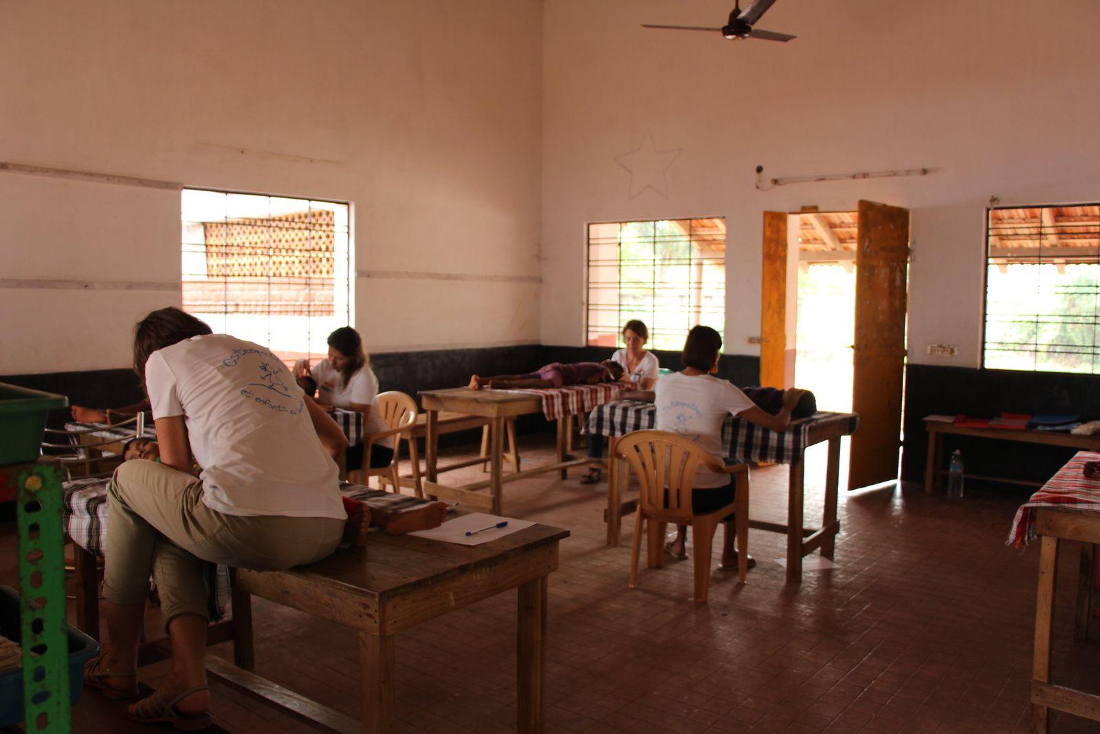 Un calme, une concentration, une osmose régnait dans cette salle, pour le bien-être des enfants